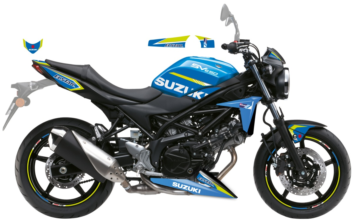 KIT DECO SUZUKI SV 650 ECSTAR GP