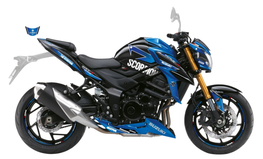 KIT DECO SUZUKI GSX-S 750 SCORPION